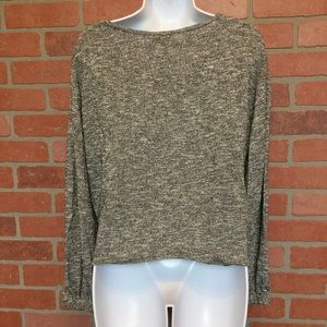Show Me Your MuMu Tops - NWT Show Me Your Mumu metallic Keegan sweater XS